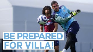 READY FOR VILLA! | FIRST TEAM TRAINING