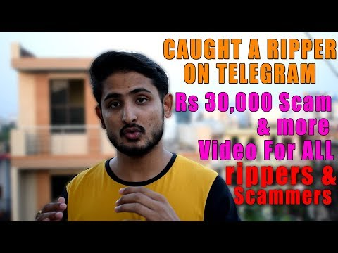 I Caught Ripper On Telegram & He Refunded Rs 15000 - Anti Ripping