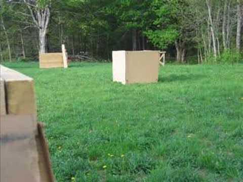 Homemade Paintball Field - YouTube