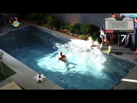 Win your Leisure Pools dream pool - Final of the swimming contest during Open Bedrijvendag 2015