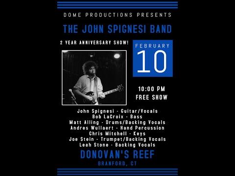 John Spignesi Band - 2/10/17 - Donovan's Reef - Branford, CT