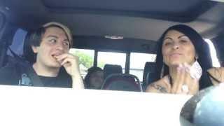 annoying car ride with mom