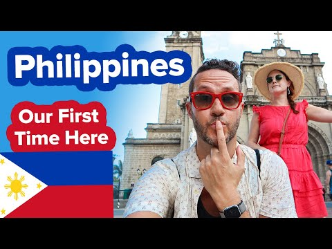 First Time in the Philippines. Blown away by Manila! Wow! What to do in the city.