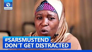 Don't Get Distracted, Eyes On The Ball, Aisha Yesufu Tells Nigerian Youths