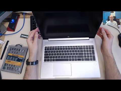 Разбираю HP ProBook 455R, ставлю память, ставлю софт, убираю лишнее из Win 10