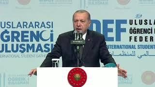 Cumhurbaşkanı Erdoğan'dan Yabancı Öğrencilere Müjde