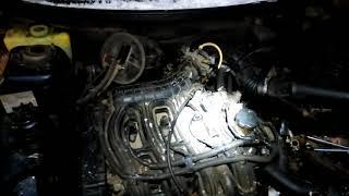 Как снять генератор с ВАЗ211 16v с гуром