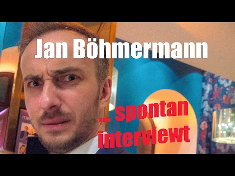 Jan Böhmermann - spontan interviewt