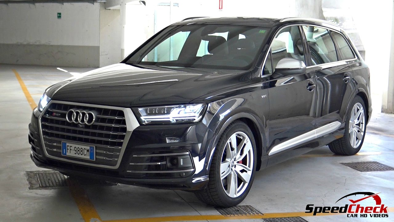 2017 audi sq7 4 0 v8 tdi full walkaround start up. Black Bedroom Furniture Sets. Home Design Ideas