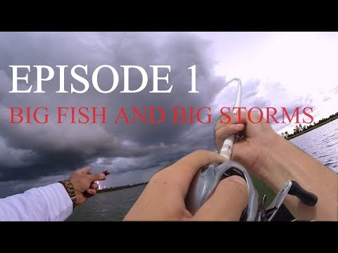 Escaping A Giant Lightning Storm! AZ PIKE FISHING!