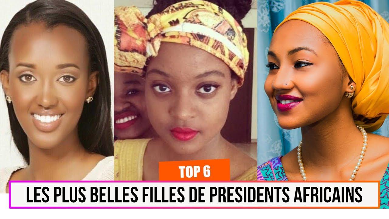 top 6 des plus belles filles de pr sidents africains youtube. Black Bedroom Furniture Sets. Home Design Ideas