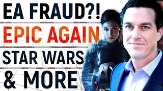 EA Accused Of Twitch Bot FRAUD?! | Star Wars Fans FINALLY Get Their Wish & Devolver X Epic Store