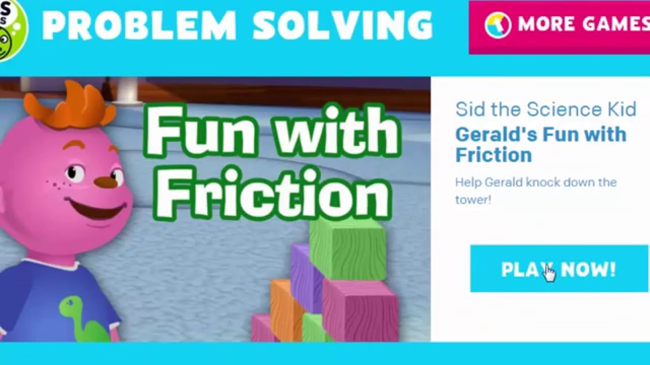PBS KIDS GAME- Fun with Friction | Online learning game for kid | Game to  play with kids - YouTube