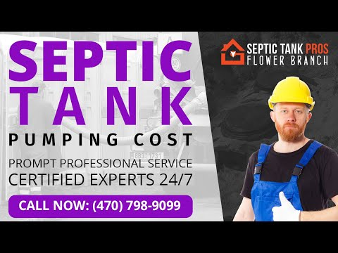 Septic System Pump Cost in Navarre