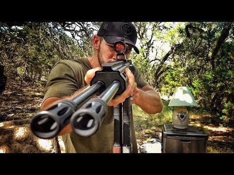 Двухствольная AR-15 против мебели | Разрушительное ранчо | Перевод Zёбры