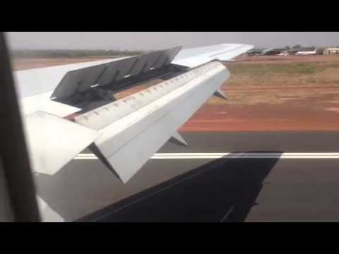 Atterrissage a Bamako-Senou!