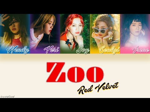 Red Velvet (레드벨벳) - Zoo [HAN|ROM|ENG Color Coded Lyrics]