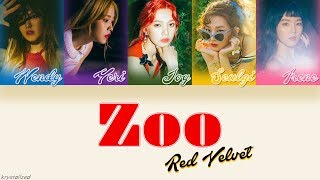 Download Red Velvet (레드벨벳) - Zoo [HAN|ROM|ENG Color Coded Lyrics] MP3 song and Music Video