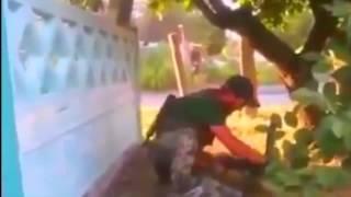 Война.Чеченские наёмники обстреливают Укр армию. Донецк Луганск Украина юго восток АТО,ДНР,ЛНР