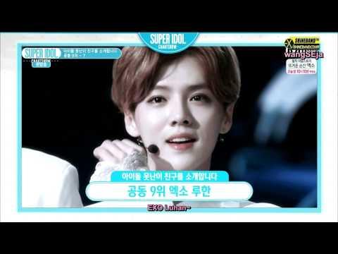 [ENGSUB] Super Idol Chart Show (Luhan Cut)