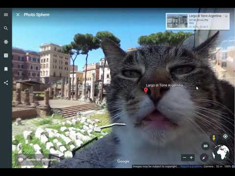 Largo Di Torre Argentina On Google Earth