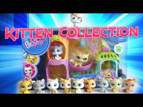 All My Lps Kittens || LPS Kitten Collection