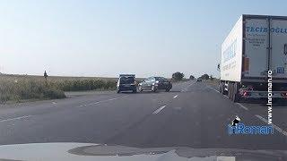 Video onboard: filmul accidentului de pe E85