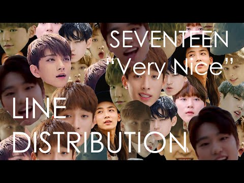 "Line Distribution | Seventeen ""Very Nice"""