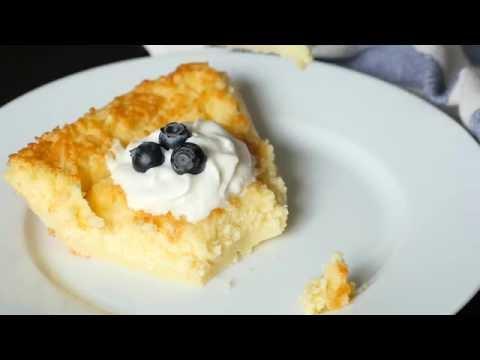 Impossible Lemon Pie