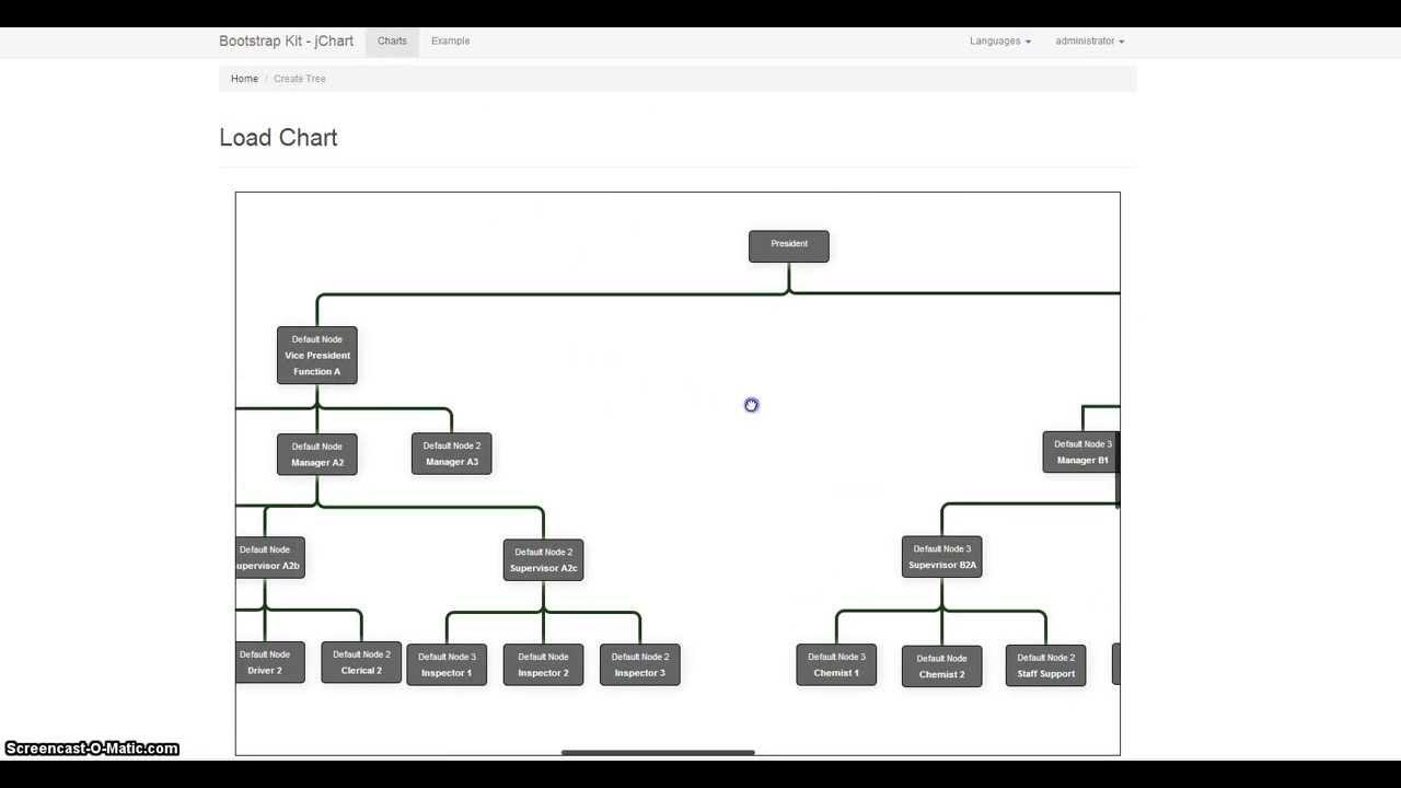 Jchart professional organization chart maker script youtube ccuart Choice Image