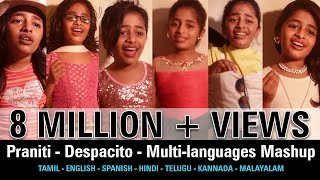 #Praniti  | #Despacito | Multi-languages Mashup [ Praniti Official Video]