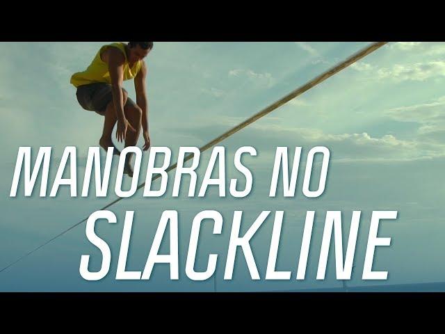 Como dar manobras no Trickline | Manual de Slackline | Canal OFF