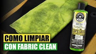 Como Limpiar con Fabric Clean - Chemical Guys Car Care