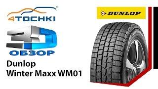 3D-обзор шины Dunlop Winter Maxx WM01 - 4 точки. Шины и диски 4точки - Wheels & Tyres 4tochki