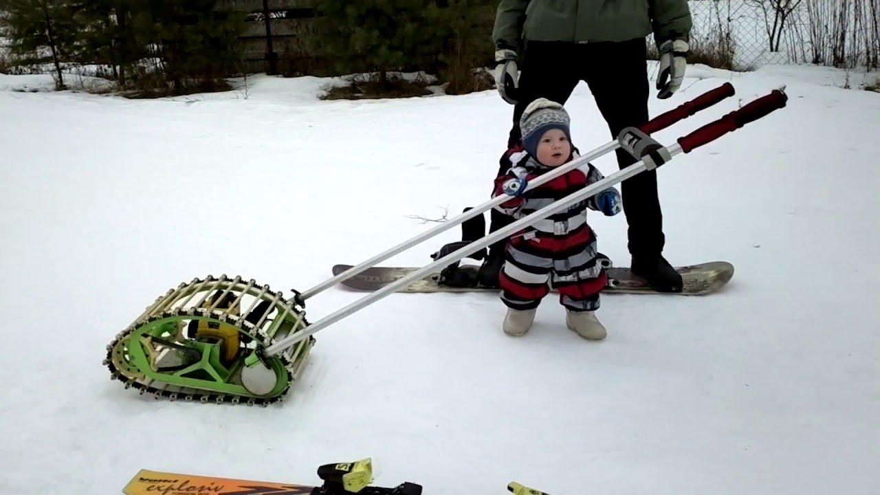 Буксировщике лыжника своими руками
