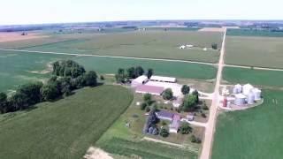 Strickler Farm Michigan Drone Footage