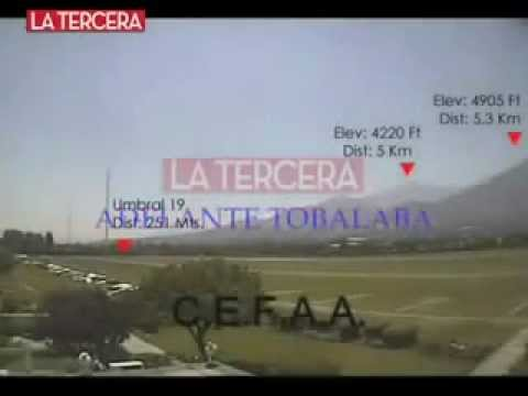 UFO in Chile - Declassified by Chilean Government