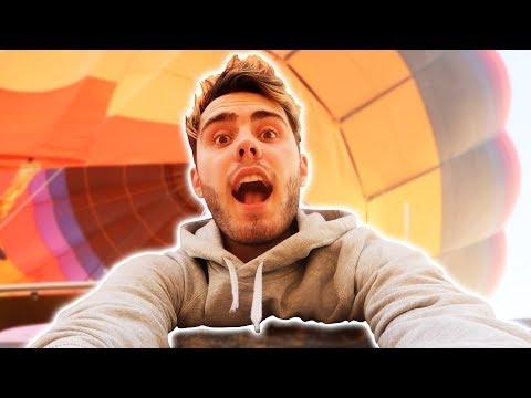 CRAZY SUNRISE HOT AIR BALLOON!! *DUBAI*