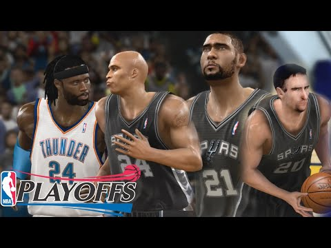 NBA 2K11 MyCareer Playoffs - Game 1 Of The Western Conference Finals!