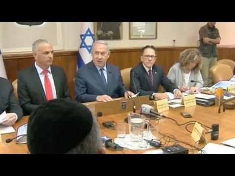 Israeli PM Netanyahu praises US strikes against Syria