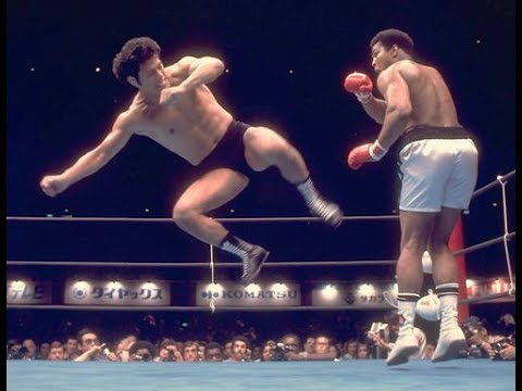 Muhammad Ali vs Antonio Inoki - no Mayweather vs McGregor !