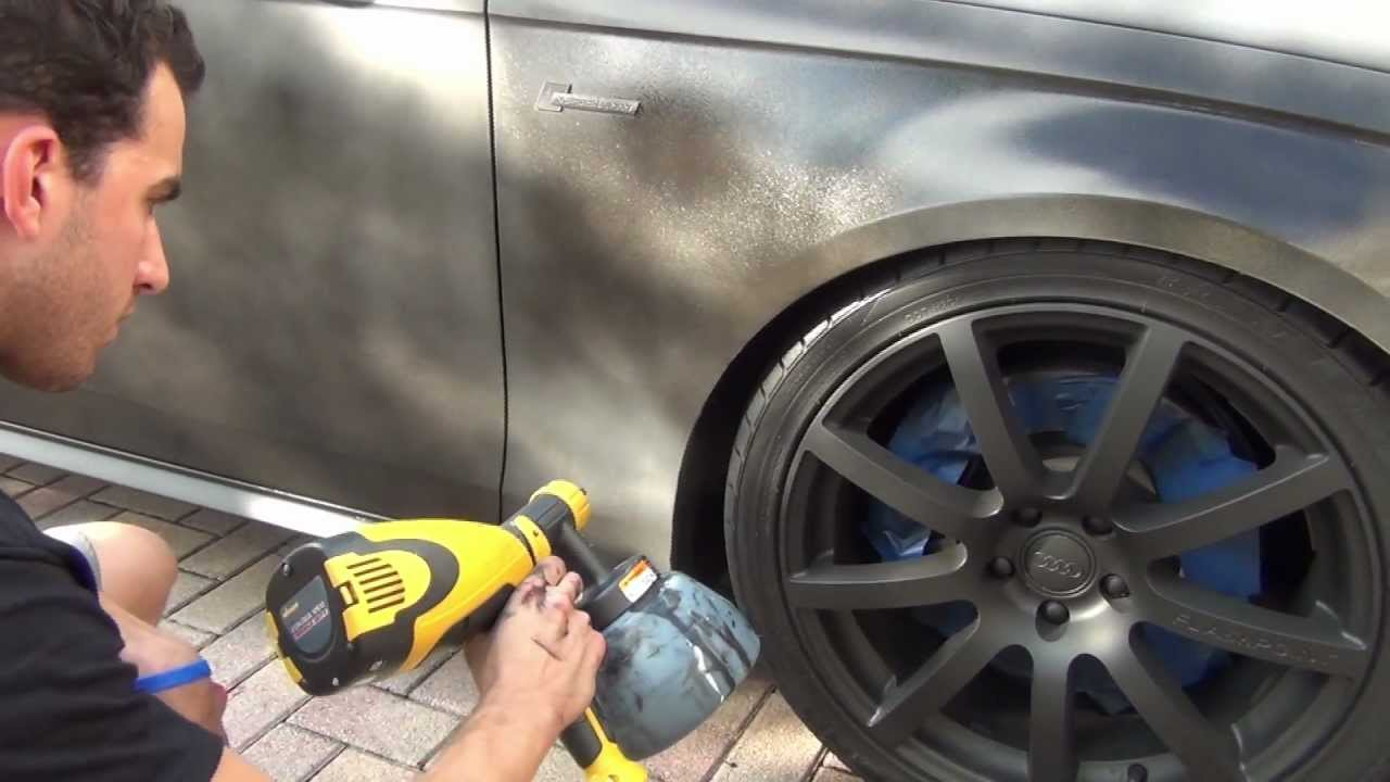 PlastiDip a WHOLE CAR - How-to by DipYourCar com