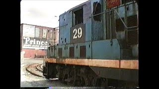 ST GP7 works Prince Spaghetti in Lowell,MA 04/09/1992