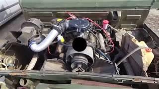 Луаз 967 замена родного карбюратора на ВАЗ 2101 (ДААЗ)