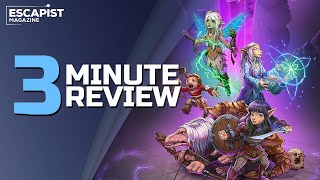 The Dark Crystal: Age of Resistance Tactics | Review in 3 Minutes (Video Game Video Review)