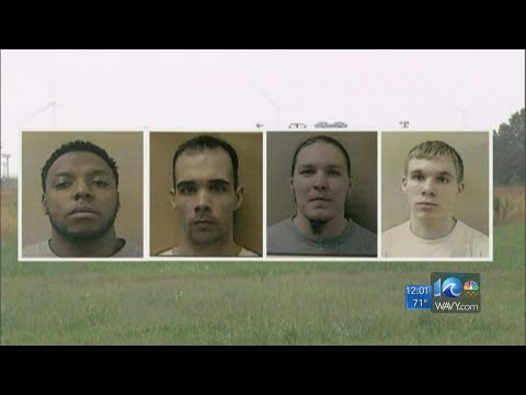 Four Pasquotank inmates charged with murder in failed prison break