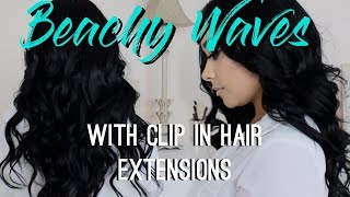 Video Beachy Waves | MFH Clip in Hair Extensions download MP3, 3GP, MP4, WEBM, AVI, FLV Juli 2018