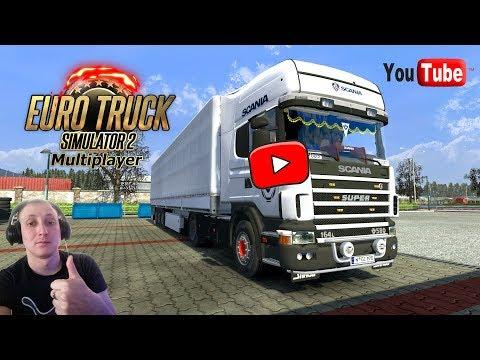 Euro Truck Simulator 2. Multiplayer. Наконец ПРИБАЛТИКА. Новая карьера. 18+