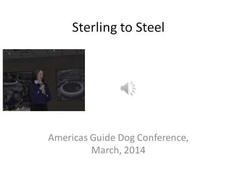Sterling to Steel
