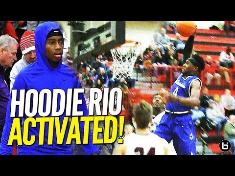 HOODIE RIO ACTIVATED!! Mario Mckinney NOT Letting This Illinois Team Get By That Easy!